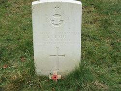 Aircraftman 1st Class Albert Thomas Bath