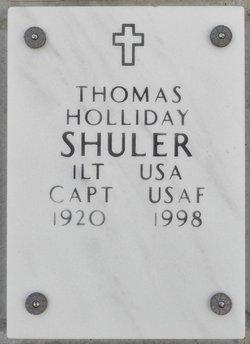Thomas Holliday Shuler, Sr