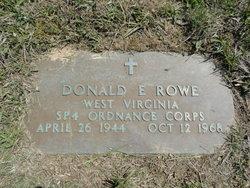 Donald E Rowe