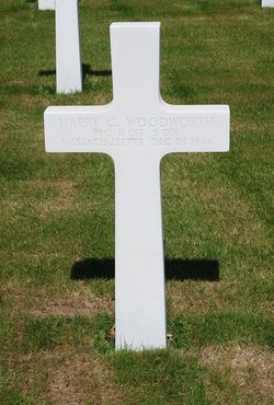 PFC Harry G Woodworth