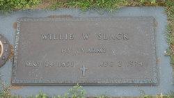 "William Wade ""Willie"" Slack"