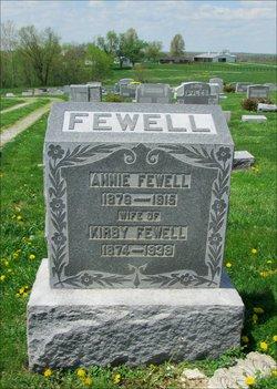 Annie <I>Smith</I> Fewell