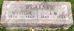 Albert M. Blaise