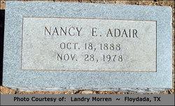 """Nancy E """"Nannie"""" <I>Dunn</I> Adair"""