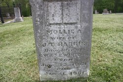 Mollie A <I>Winters</I> Harris
