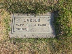 "Andrew Franklin ""Frank"" Carson"