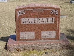 Sarah <I>Miller</I> Galbraith