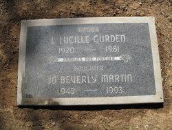 Laura Lucille <I>Russell</I> Westover Gurden LeBrun
