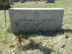 PFC Edward J Grout