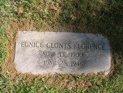 Eunice Amanda <I>Clonts</I> Florence