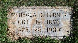 Rebecca E <I>DeLay</I> Turner