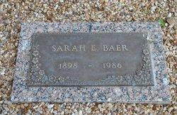 Sarah Elizabeth <I>Yancey</I> Baer