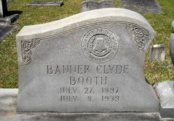 Banner Clyde Booth
