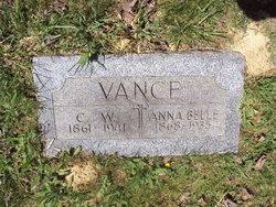 Anna Bell <I>Caldwell</I> Vance