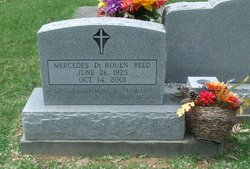 mercedes agnes derouen reed 19252001 find a grave