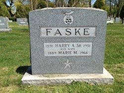 Harry A Faske, Sr