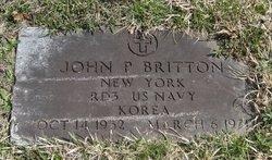 John P Britton