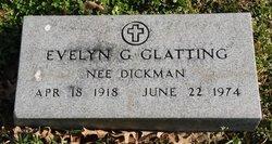 Evelyn G <I>Dickman</I> Glatting