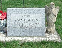 Mary Elizabeth <I>Waters</I> Myers