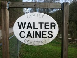 Walter Caines Family Cemetery