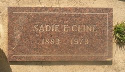 "Sarah Ellen ""Sadie"" <I>Jaquiss</I> Cline"