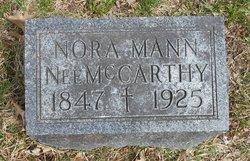 Nora <I>McCarthy</I> Mann