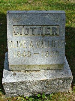 Olive Ann <I>Ellis</I> Valliele