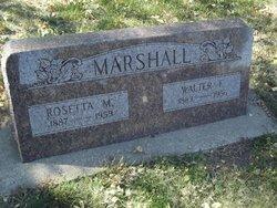 Rosetta M. Marshall