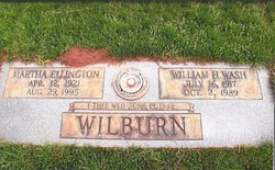 Martha Hope <I>Ellington</I> Wilburn