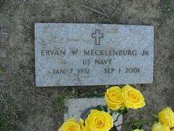 """Ervan W """"Erv"""" Mecklenburg, Jr"""