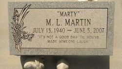 """M. L. """"Marty"""" Martin"""