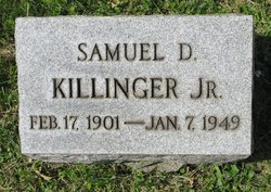 Samuel David Killinger Jr.