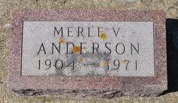 Merle V Anderson