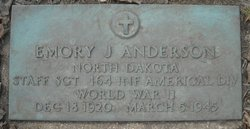 SSGT Emory J. Anderson