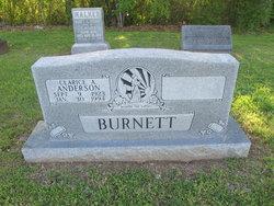 Clarice <I>Anderson</I> Burnett