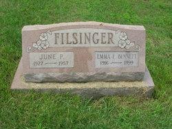 Emma <I>Filsinger</I> Bennett