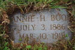 Nannie A <I>Hampton</I> Boone