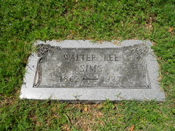 Walter Lee Sims