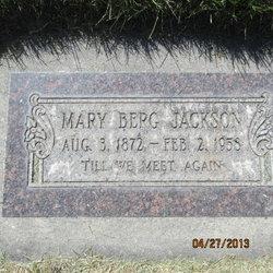 Mary <I>Berg</I> Jackson