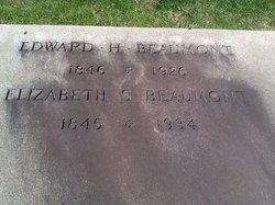"Elizabeth E ""Lizzie"" <I>Schofield</I> Beaumont"