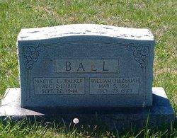 "Martha Ellen ""Mattie"" <I>Walker</I> Ball"