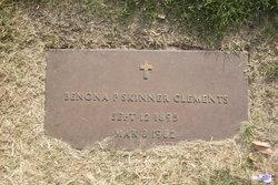 "BENONA P. ""Skipper"" Clements"