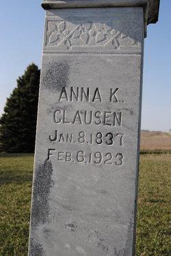 Anna Kristina <I>Nissen</I> Clausen