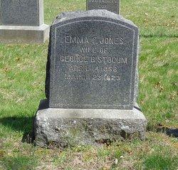 Emma F <I>Jones</I> Stocum