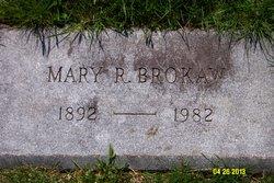 Mary Elizabeth <I>Radford</I> Brokaw