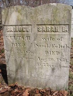 Sarah <I>Brackett</I> Feltch