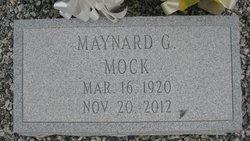 Maynard G Mock