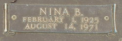 Nina <I>Brown</I> Shaw