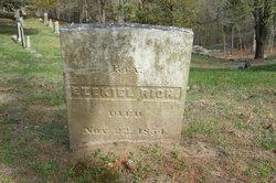 Rev Ezekiel Rich