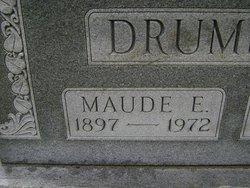 Maude Ethel <I>Jefferis</I> Drumright